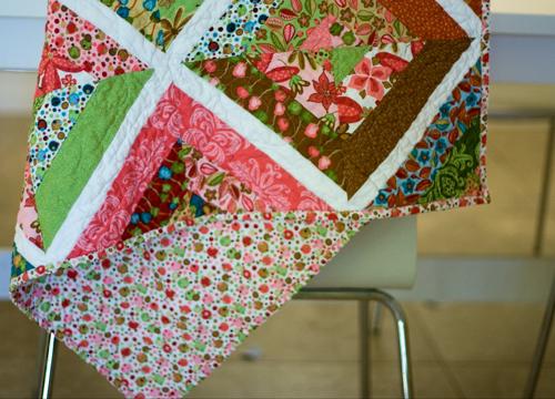 String quilt back