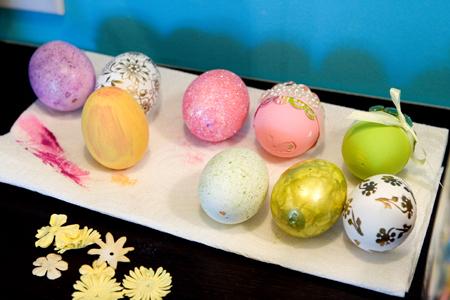 Eggs in progress