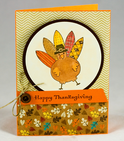 Happy Turkey Card